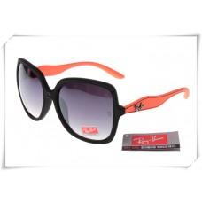 Ray Ban RB2085 Jakie Ohh Sunglasses Orange Black Frame Grey Gradient Lens