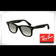 Ray Ban RB2140 Original Wayfarer Sunglasses Black Frame Grey Gradient Lens