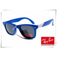 Ray Ban RB2157K Ultra Wayfarer Sunglasses Blue Frame Grey Lens