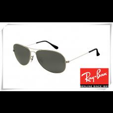 Ray Ban RB3362 Cockpit Sunglasses Gunmetal Frame Crystal Grey Lens