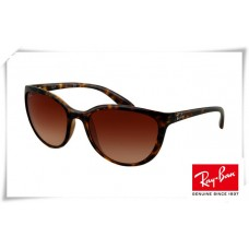 Ray Bans Erika RB4274 Sunglasses Tortoise Frame Brown Mirror Lens