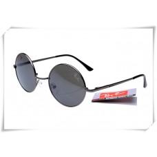 Ray Bans Round Metal RB3447 Sunglasses Black Frame Black Lens