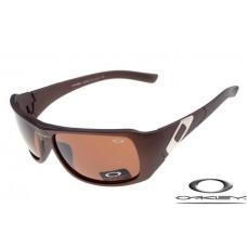 Oakley Sideways Sunglasses Brown Frame Brown Iridium Lens OAKLEY20156250