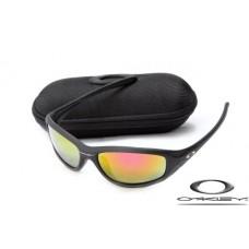 Oakley Encounter Women Sunglasses Black Frame Fire Yellow Iridium Lens OAKLEY20156286