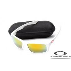 Oakley Eyepatch Sunglasses Polishing White Frame Yellow Iridium Lens OAKLEY20156254