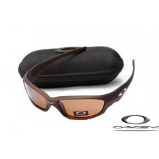 Oakley Straight Jacket Sunglasses Polishing Brown Frame Brown Iridium Lens OAKLEY20156281