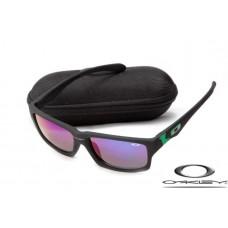 Oakley Jupiter Squared Sunglasses Black Frame Blue Lens OAKLEY20156397