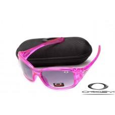 Oakley Necessity Women Sunglasses Rose Frame Gray Lens OAKLEY20156445