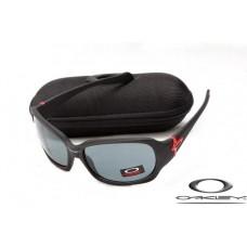 Oakley Script Sunglasses Black Frame Gray Lens OAKLEY20156501