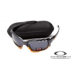 Imitation Oakleys cheap Jawbone Polishing Black Gray Lens
