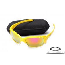 Oakley Jawbone Sunglasses Yellow Frame Fire Yellow Iridium Lens OAKLEY20156300