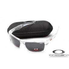 Oakley Jury Sunglasses Polishing Transparent Frame Gray Iridium Lens OAKLEY20156332