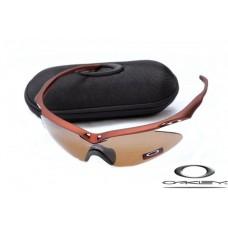 Oakley M Frame Sunglasses Brown Frame Brown Iridium Lens OAKLEY20156301