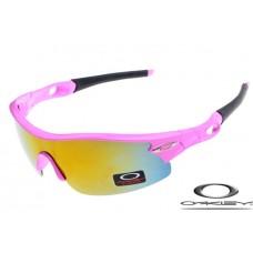 Oakley Radar Pitch Sunglasses Polishing Pink Frame Pink Iridium Lens OAKLEY20156304