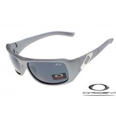 Oakley Sideways Sunglasses Gray Frame Gray Iridium Lens OAKLEY20156327