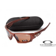 Oakley Ten Sunglasses Polishing Brown Frame Brown Iridium Lens OAKLEY20156328