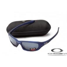 Oakley XS Fives Sunglasses Blue Frame Gray Iridium Lens OAKLEY20156338