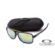 Oakley Deviation Sunglasses Frosting Black Frame Gray Blue Iridium Lens OAKLEY20156140