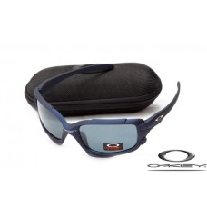 Oakley Jawbone Sunglasses Blue Frame Blue Iridium Lens OAKLEY20156148