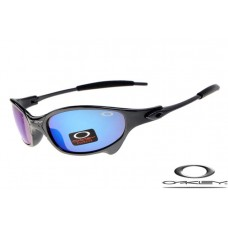 Oakley Juliet Sunglasses Polishing Black Frame Blue Iridium Lens OAKLEY20156113