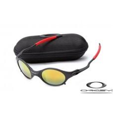 Oakley Mars Sunglasses Black Frame Yellow Iridium Lens OAKLEY20156160