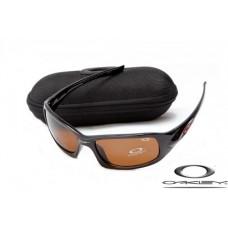 Oakley XS Fives Sunglasses Polishing Black Frame Brown Iridium Lens OAKLEY20156166