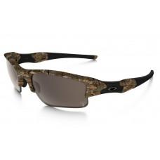 Knockoff Oakleys flak jacket woodland camo VR28 warm grey O8007