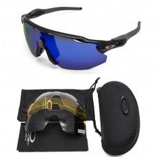 Oakley 2.0 radar ev sunglasses black frame