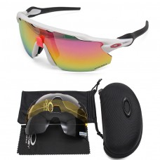 Oakley 2.0 radar ev sunglasses white frame