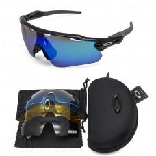 Oakley 2.3 radar ev sunglasses black frame