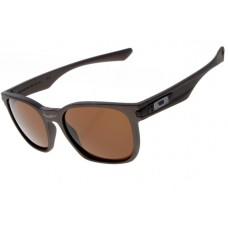 Oakley Garage Rock Sunglasses Round Matte Brown Frame Brown Iridium Lens