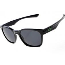 Oakley Garage Rock Sunglasses Round Polishing Black Frame Gray Lens