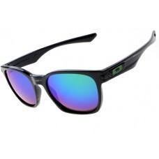 Oakley Garage Rock Sunglasses Round Polishing Black Frame Violet Iridium Lens