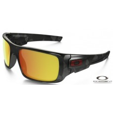 Oakley Crankshaft Sunglasses Black Frame Fire Iridium Lens