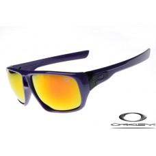 Oakley Dispatch Sunglasses Polishing Purple Frame Fire Yellow Iridium Lens OAKLEY20156193