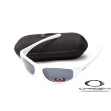 Oakley Encounter Women Sunglasses White Frame Gray Iridium Lens OAKLEY20156229