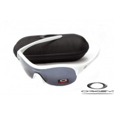 Oakley Enduring Pace Sunglasses White Frame Gray Iridium Lens OAKLEY20156227