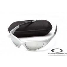 Oakley Minute Sunglasses Silver Frame Silver Iridium Lens OAKLEY20156210
