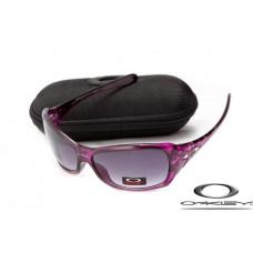 Oakley Necessity Sunglasses Purple Frame Gray Iridium Lens OAKLEY20156221
