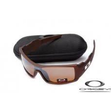 Oakley Oil Drum Sunglasses Brown Frame Brown Iridium Lens OAKLEY20156204