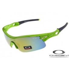Oakley Radar Pitch Sunglasses Polishing Green Frame Yellow Blue Iridium Lens OAKLEY20156239