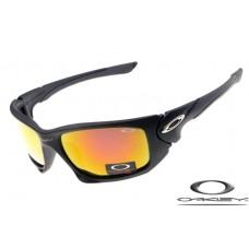 Oakley Scalpel Sunglasses Polishing Black Frame Fire Yellow Iridium Lens OAKLEY20156189