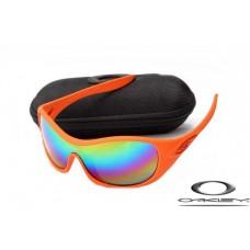 Oakley Speechless Sunglasses Orange Frame Colors Iridium Lens OAKLEY20156224