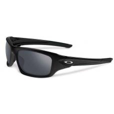 Oakley Valve Sunglasses Polished Black Frame Black Iridium Lens