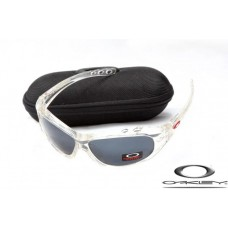 Oakley Water Jacket Sunglasses Transparent Frame Gray Iridium Lens OAKLEY20156213
