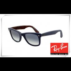 Ray Ban RB2140 Original Wayfarer Sunglasses Blue Frame Light Blue Gradient Lens