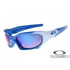 Oakley Pit Boss Sunglasses Blue Milky Frame Blue Lens OAKLEY20156364