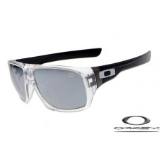 Oakley Dispatch Sunglasses Black Transparent Frame Gray Lens OAKLEY20156377