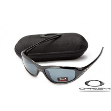Oakley Encounter Women Sunglasses Polishing Black Frame Gray Lens OAKLEY20156482