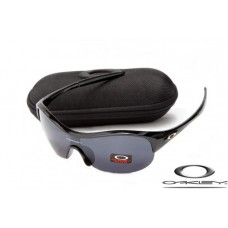 Oakley Enduring Pace Sunglasses Polishing Black Frame Gray Lens OAKLEY20156483